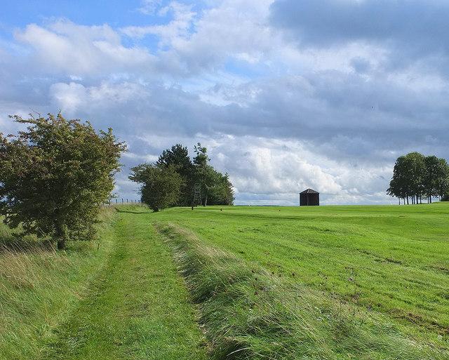Path on Arn Hill Down