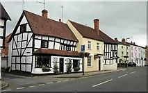 SP0957 : Buildings on Henley Street, Alcester by Derek Harper