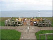 NZ8911 : Memorial garden, West Cliff by E Gammie
