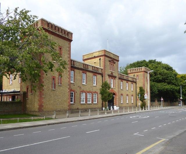 Former East Surrey Barracks, King's Road