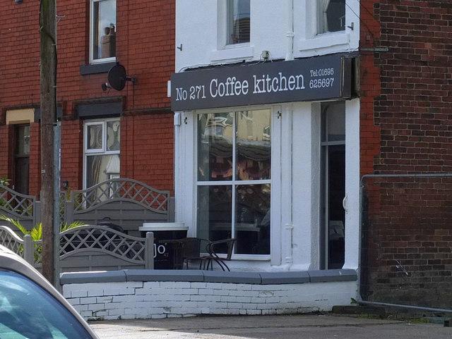 Coffee Kitchen on Upholland Road, Billinge