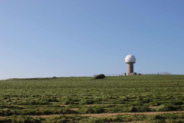 Radar Station at Hartland Point