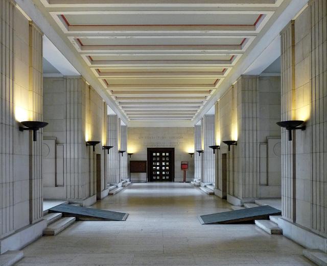 Interior detail of Senate House, Malet Street (1)