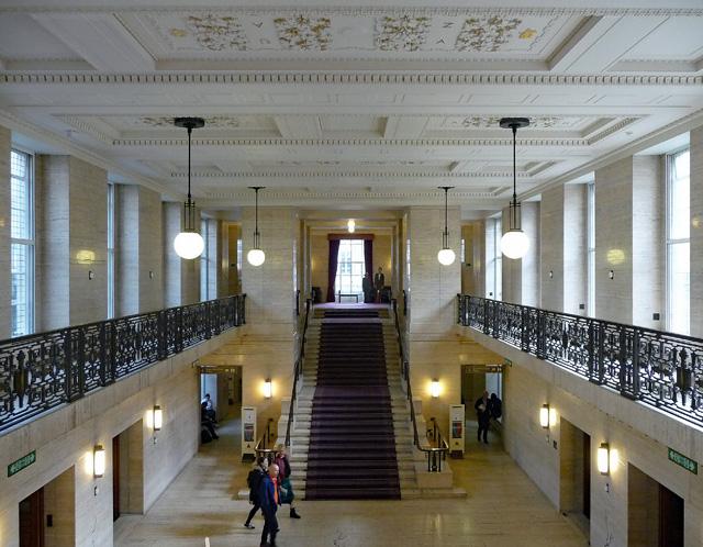 Interior detail of Senate House, Malet Street (2)