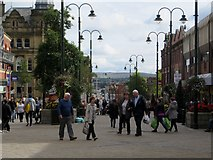 SD9205 : Yorkshire Street, Oldham by Philip Platt