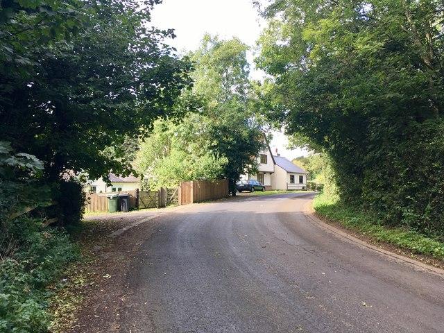 Scragged Oak Road, near Detling