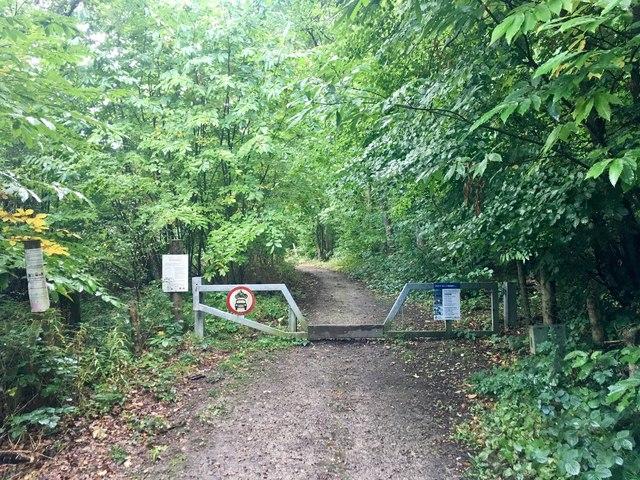 Footpath in Bredhurst Hurst