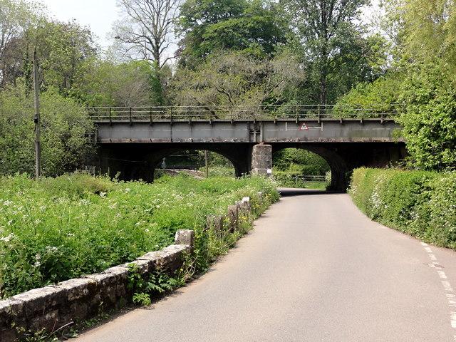 The Railway Bridge, Littlehempston