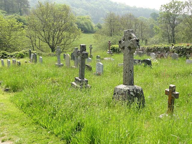The Churchyard at Littlehempston