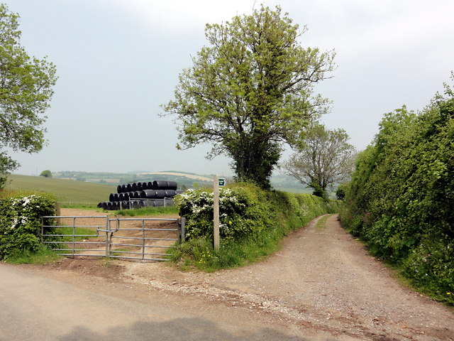 The Start of a Green Lane at Parsonage Cross