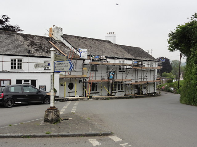 The Sea Trout Inn and Village Square