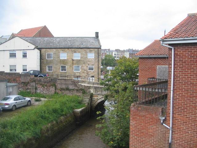 Old bridge over Spital Beck
