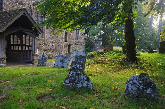 St Mary and St Ethelburga Church, Lyminge
