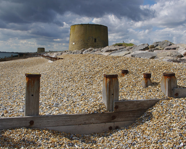 Martello Towers 14 & 15, Hythe