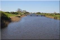 ST3144 : Puriton Road Bridge, Huntspill River by N Chadwick