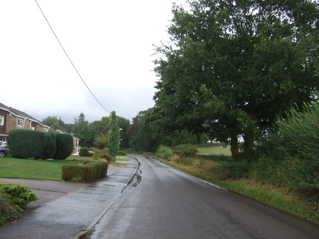 Looking south east on Taverham Road