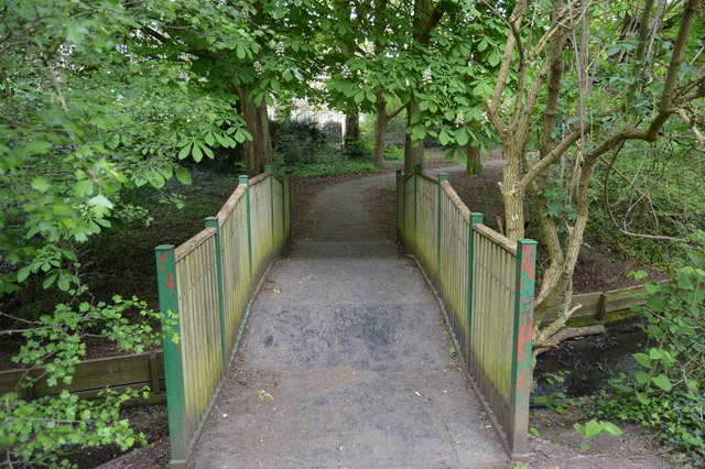 Footbridge, Mutton Brook