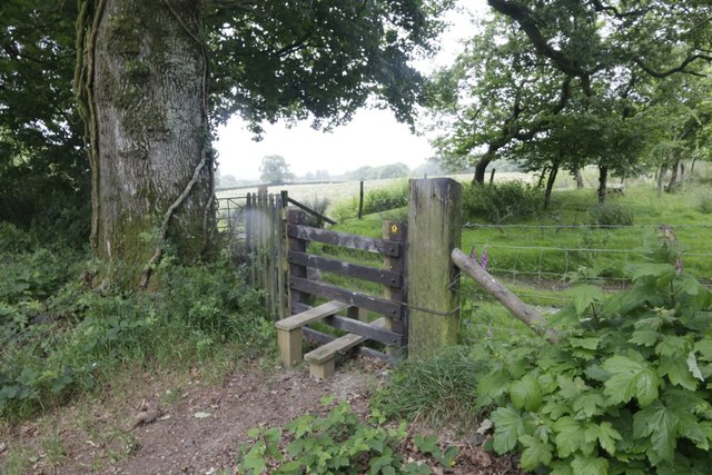 Stile in the Churchyard