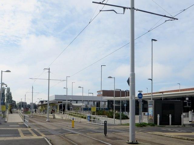 Wythenshawe tram stop