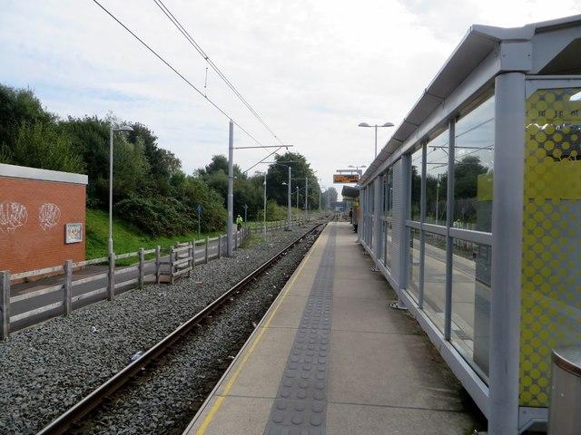 St. Werburgh's Road tram stop