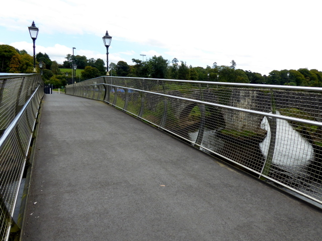Footbridge across the Drumragh River