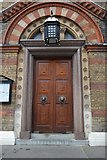 TQ2580 : Door, Greek Orthodox Cathedral of St Sophia by N Chadwick