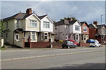 ST3090 : Malpas Road houses near Pillmawr Road, Newport by Jaggery