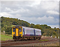 NY7363 : 156490 approaching Greengates crossing - September 2017 by The Carlisle Kid