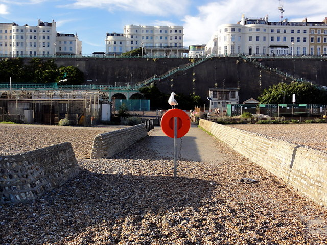Looking back from the Banjo Groyne