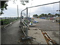 SE2299 : Catterick  Road  closed  footpath  only  over  A1 by Martin Dawes