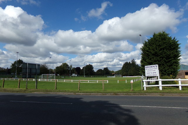 Plying Field off the A134 Cranwich Road