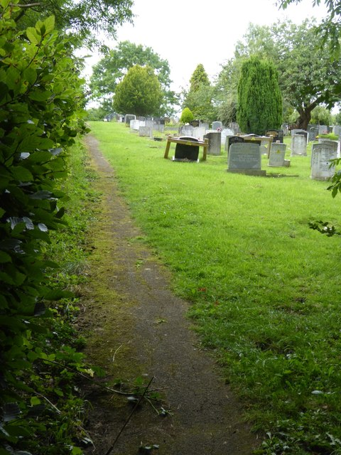 Cemetery south of Bakewell