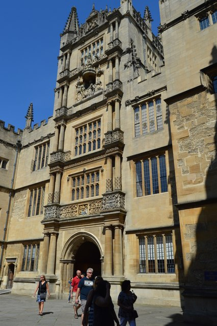 The Tower of The Five Orders, The Bodleian Library