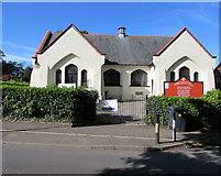 ST0881 : Grade II listed Creigiau Church Hall, Creigiau by Jaggery