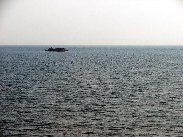 Black Rocks viewed from Burntisland