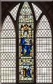 TF1963 : Stained glass window, St Peter's church, Woodhall Spa by Julian P Guffogg