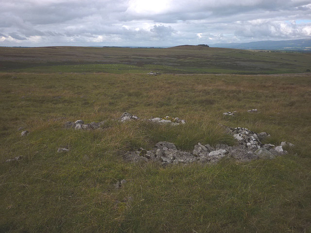 Possible prehistoric cairn on Great Asby Scar