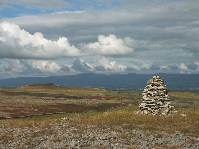 Cairn on Great Asby Scar