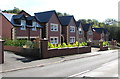 ST0881 : Recently-built houses, Cardiff Road, Creigiau by Jaggery