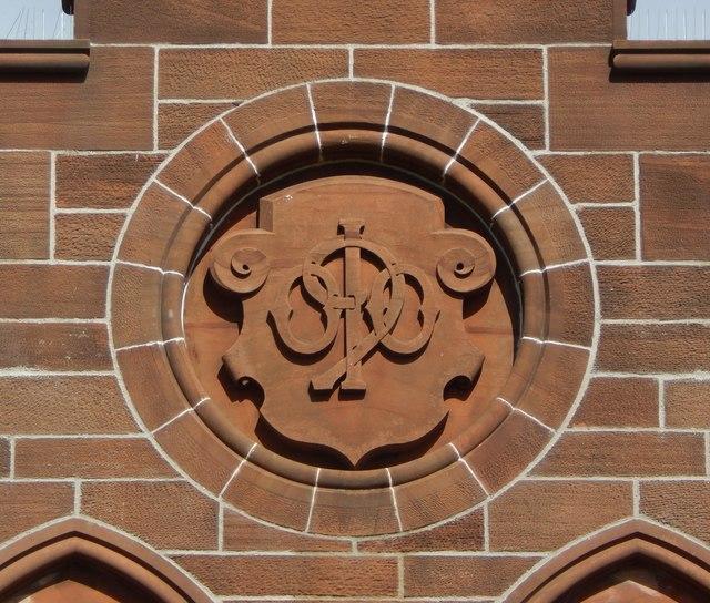 Dumbarton Municipal Buildings: date stone