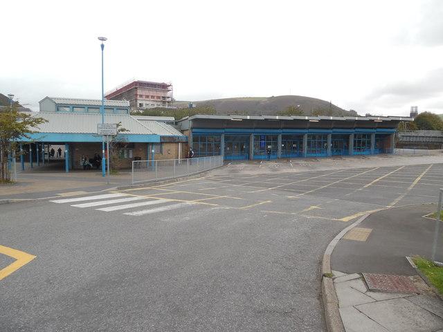 Empty Bus Station, Port Talbot (2)