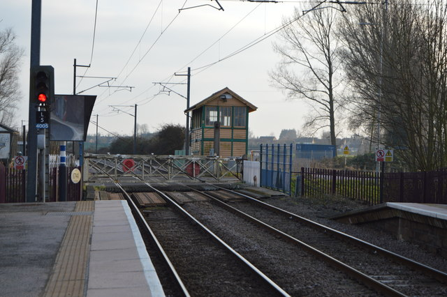 Littleport  Level Crossing and Signalbox