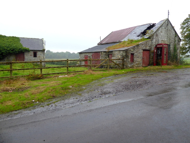 Derelict buildings, Cleanally