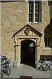 SP5106 : St Edmund Hall College entrance by N Chadwick