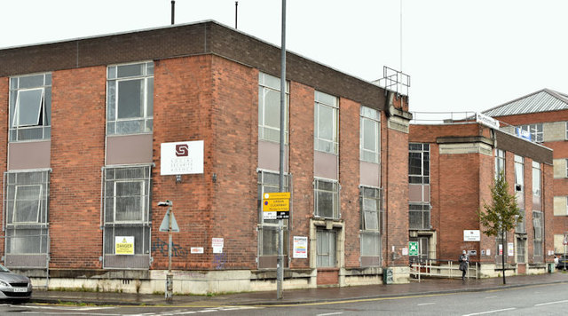 Former social security office, Belfast - September 2017(4)