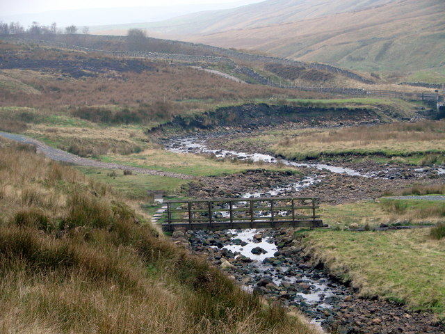 Footbridge over Little Dale  Beck