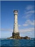 SV8006 : Bishop Rock lighthouse by Michael Earnshaw