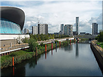 TQ3884 : View from Olympic Park by Stephen Richards