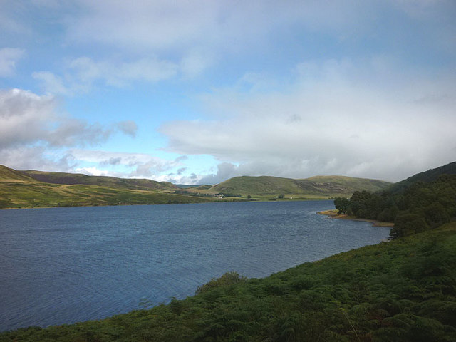 St Mary's Loch below Bowerhope Law