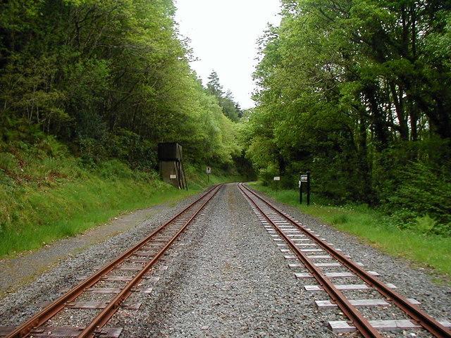 Aberffrwd station, Vale of Rheidol Railway